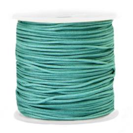 Macramé draad 1.5mm Grayed jade blue