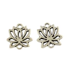 Bedel/tussenzetsel Lotus zilver