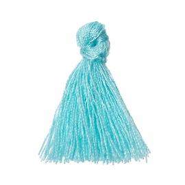 Tassel minty blue