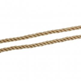 Schipperskord gold 5mm