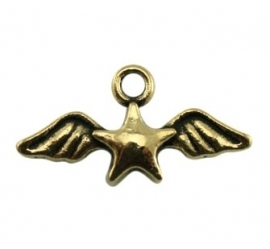 Bedel wings with star goud