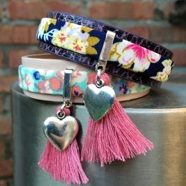 Inspiratie armband 'flower power'