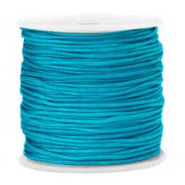 Macramé draad 1.5mm Dark cyan blue