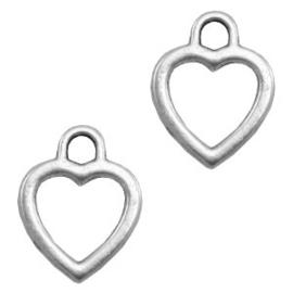 Bedel hart zilver