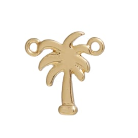 Connector palmtree gold