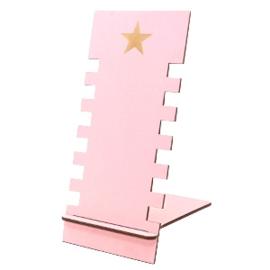 Sieraad display hout star Pink