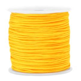 Macramé draad 1.5mm Marigold cheer yellow