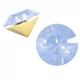 Puntsteen SS39 light sapphire blue opal (BQ)
