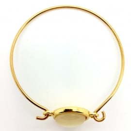 Bangle goud parelmoer (DQ) (AR006)