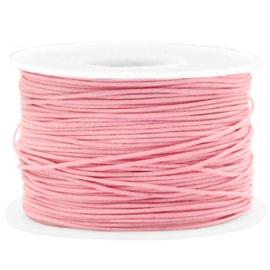 Waxkoord 1.0 mm Pink