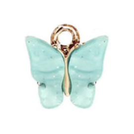 Bedel vlinder mint goud