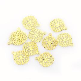 Bedel bloem filigraan goud