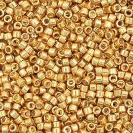 Miyuki delica Galvanized yellow gold