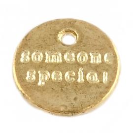 Bedel someone special goud (bulk)