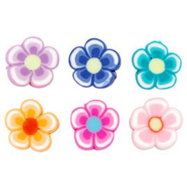 Polymeer kralen bloem Multicolour
