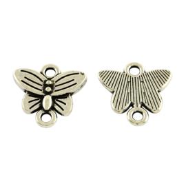 Tussenzetsel vlinder zilver