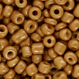 Rocailles 4mm Sierra brown