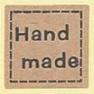 Sticker handmade kraft
