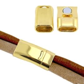 Magneetslot Ø10.2x5mm Goud
