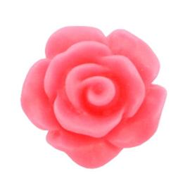 Rose 10mm matt hot pink
