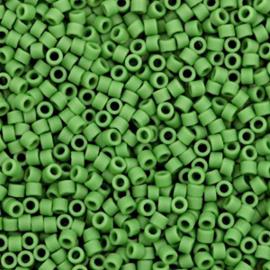 Miyuki delica Opaque matte green