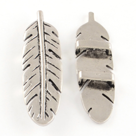 Slider feather silver