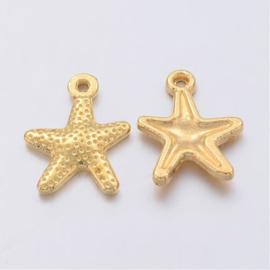 Bedel starfish goud