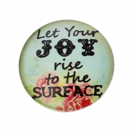Cabochon 'joy' 20mm