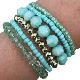 Armbandjes 'greenish'