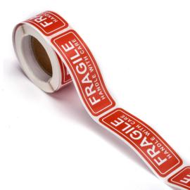 Sticker fragile rol