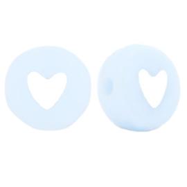 Letterkralen hartjes blue