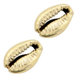 Schelp kralen specials Kauri Gold