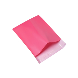 Verzendzak roze 30x25cm