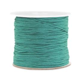 Macramé draad 0.8mm turquoise emerald