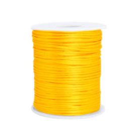 Satijn draad 1.5mm Sunflower yellow
