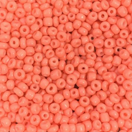 Rocailles oranje rood 3mm
