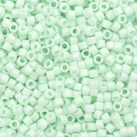 Miyuki delica Opaque light mint green