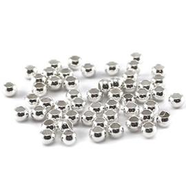 Knijpkraal zilver 2mm
