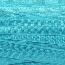 Elastiek aqua blue 15mm
