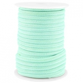 Dreamz cord 5mm Turquoise mint green