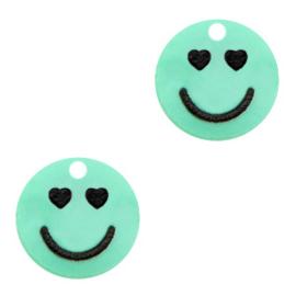 Plexx bedels smiley hearts Mint green
