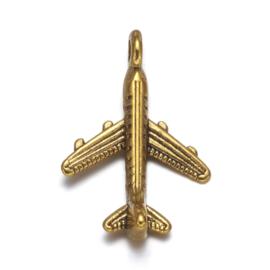 Bedel vliegtuig goud