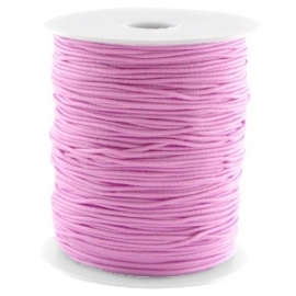 Elastiek violet lila 1mm