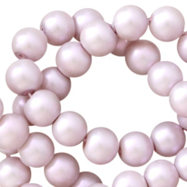 Glasperlen lilac pearl shine 8mm