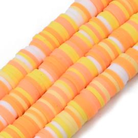 Katsuki kralen 6mm orange mix