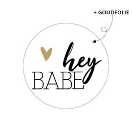 Sticker Hey BABE!