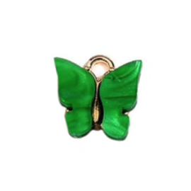Bedel vlinder groen goud