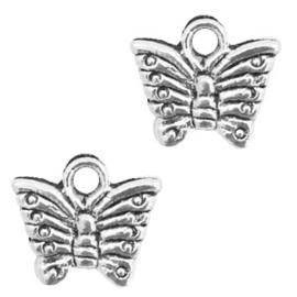 Bedel vlinder Antiek zilver