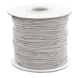 Elastic light grey 1mm