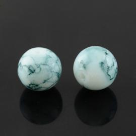 Glaskraal baked marble slate greyblue 6mm